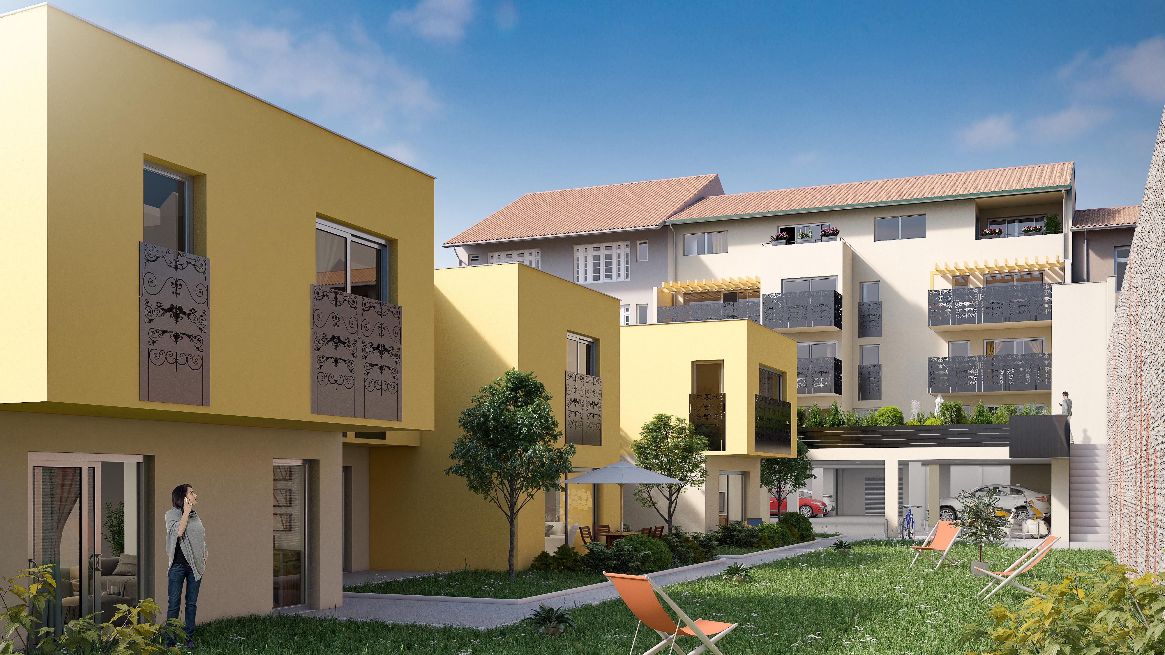 programme immobilier amassade pau 64000. Black Bedroom Furniture Sets. Home Design Ideas