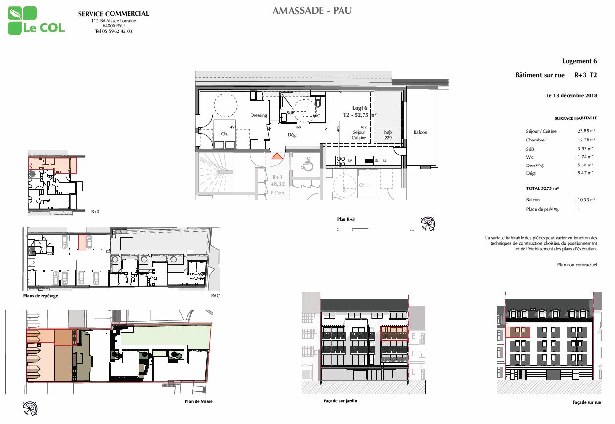Programme Immobilier Amassade A Pau 64000